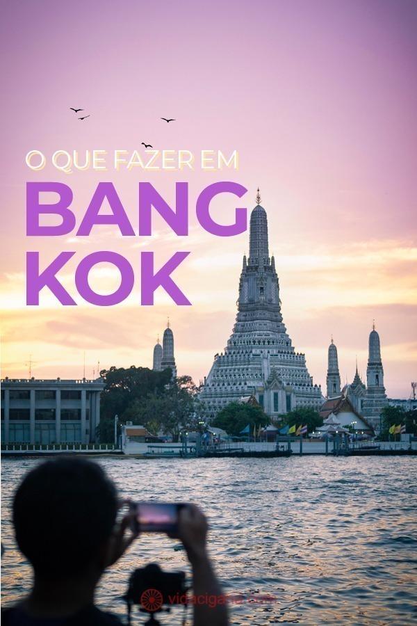 O que fazer em Bangkok: Top 10 atrações da capital da Tailândia. Possivelmente a cidade mais visitada do Sudeste Asiático, não há qualquer problema para encontrar o que fazer em Bangkok, pois atrações não faltam à capital da Tailândia.