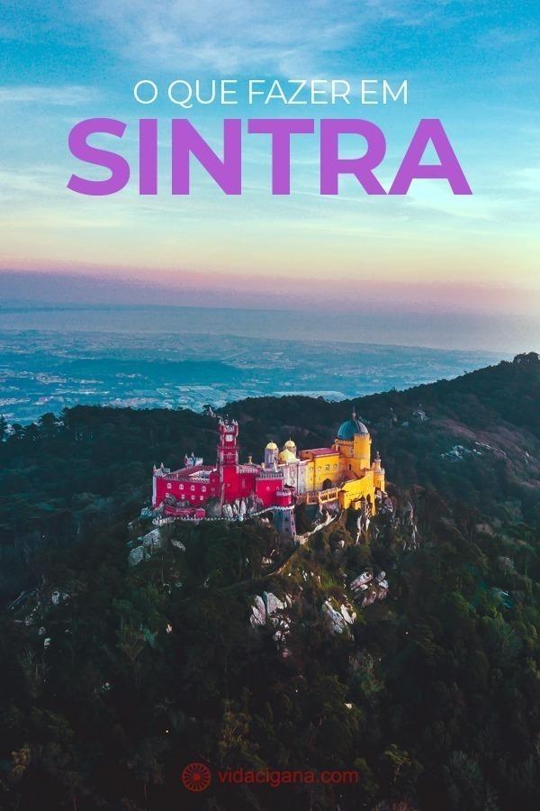 O que fazer em Sintra. Dentre as várias atrações locais, os principais pontos turísticos de Sintra são: Palácio Nacional de Sintra, Castelo dos Mouros, Palácio da Pena, Quinta da Regaleira, Palácio de Seteais, Palácio de Monserrate, O Centro histórico da cidade