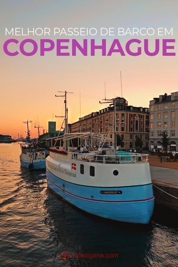 Todas as dicas para fazer o melhor tour da Dinamarca, que é o passeio de barco em Copenhague. Com todas as dicas para você escolher de qual porto sair e como pagar.