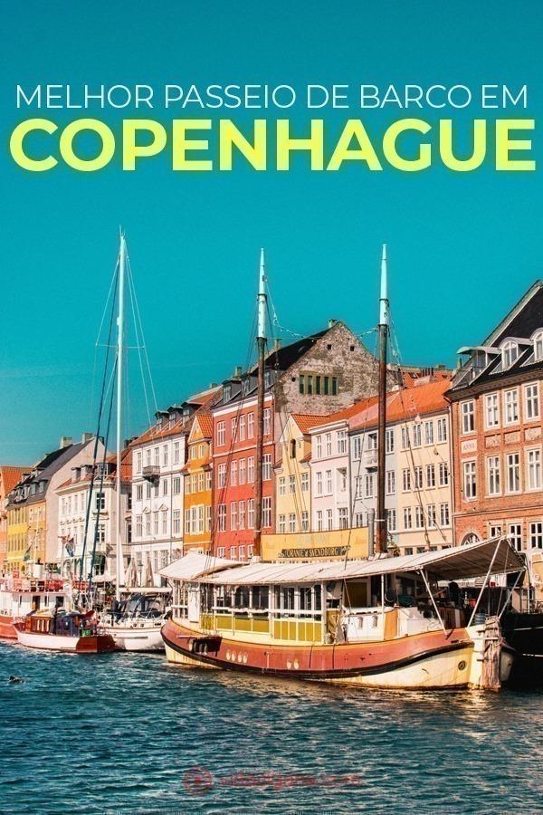 Tenha as melhores vistas da capital da Dinamarca fazendo o passeio de barco em Copenhague, que é o tour mais incrível da cidade. Veja prédios, atrações turísticas e bairros por outro ângulo, pelos vários canais da cidade.
