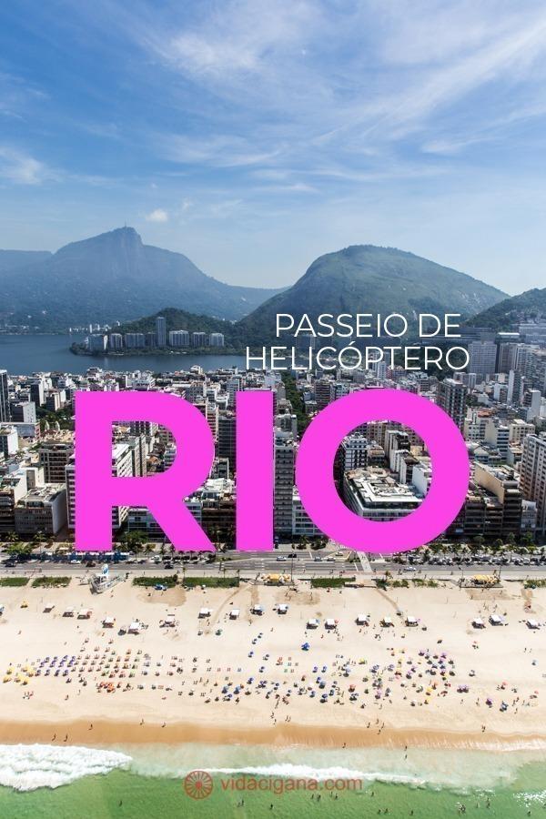 Veja a Cidade Maravilhosa de um novo ângulo, com o melhor passeio de helicóptero pelo Rio de Janeiro, com descrição de todos os tipos de passeios, com todas as atrações apresentadas, valores atualizados e dicas de segurança, principalmente para quem tem medo de altura.