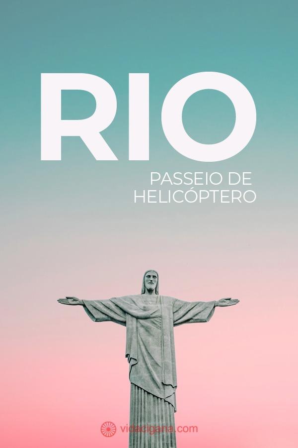 Todas as dicas para fazer o melhor passeio de helicóptero pelo Rio de Janeiro, com todas as atrações descritas, todos os valores e como chegar até o aeroporto de Jacarepaguá, de onde saem os voos.