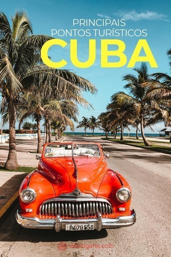 Os principais pontos turísticos de Cuba são aqueles relacionados à estética que a vida na ilha tem, aparentando ter sido congelada no tempo da Guerra Fria, após décadas de bloqueio econômico. Por conta disso, muitas das atrações a serem listadas não são locais fixos, determinados, mas sensações e experiências a serem vividas que só são possíveis nesta ilha tão fascinante