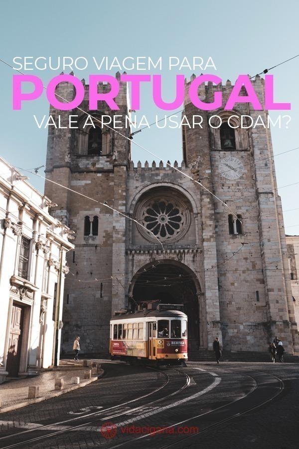 Qual o melhor seguro viagem para Portugal? Seguro viagem para Portugal com seguradora brasileira. CDAM – Certificado de Direito à Assistência Médica. Como emitir o CDAM ou PB4 no Brasil
