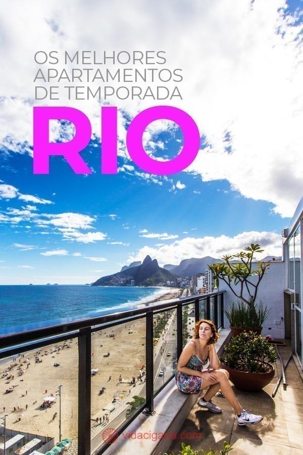 Apartamentos para temporada no Rio: os 15 melhores lugares para se hospedar na Cidade Maravilhosa, com vários bairros e hospedagem para diferentes tipos de viajantes, desde os que querem economizar até famílias. Dos mais próximos da praia aos com as melhores vistas da cidade.