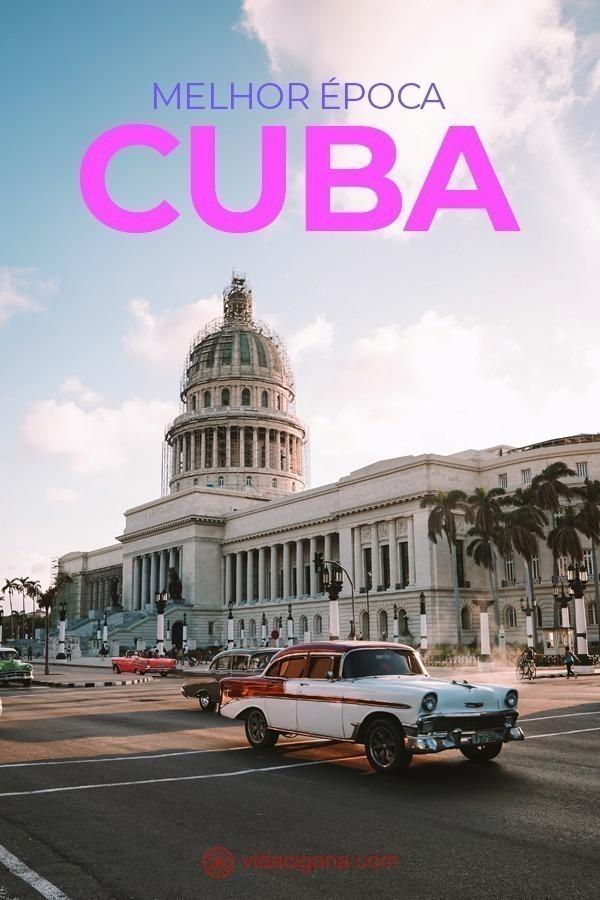 A melhor época do ano para viajar para Cuba. A estação seca ou nos meses de chuva. a temporada de furacões do Caribe. Os períodos de alta ou baixa temporada da ilha.