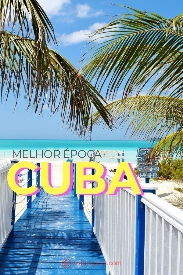 """A melhor época do ano para viajar para Cuba vai de novembro a abril. É neste período que ocorre a estação seca na ilha, que coincide aproximadamente com o """"inverno"""", quando o clima é mais ameno. Qual a melhor estação do ano para viajar para Cuba? Quando a temporada de furacões do Caribe atinge Cuba? Quais são os períodos de alta e baixa temporada do turismo em Cuba? Como é viajar para Cuba, mês a mês."""