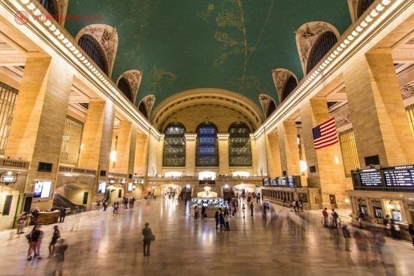O interior da Grand Central Station