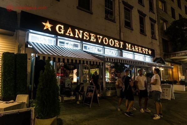 Fachada do Gansevoort Market