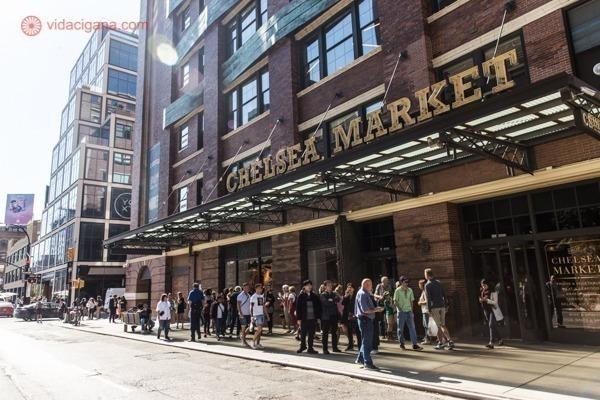 A Fachada do Chelsea Market