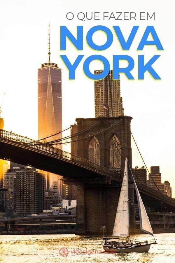 Assim que começar a listar o que fazer em Nova York, o turista vai logo perceber que terá que planejar muito bem sua viagem. A cidade é imensa, uma das maiores do mundo, e possui inesgotáveis atrações, quase infinitas, para todos os gostos. Para o turista não ficar completamente perdido na hora de saber o que fazer em Nova York, restringimos nossa lista as 22 melhores atrações. Aqui estão aquelas que avaliamos como indispensáveis numa passagem pela cidade