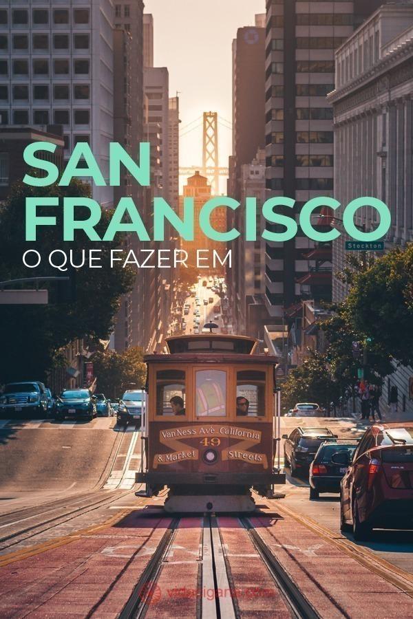 Ao procurar o que fazer em San Francisco, o turista nunca ficará sem opções. Poucos lugares no mundo são tão ecléticos e ousados como esta cidade. É impossível não se apaixonar por San Francisco.