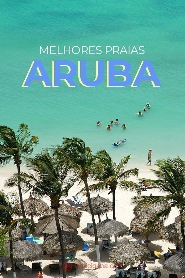 As praias de Aruba são a maior atração do país. Não tem como ir para Aruba ou qualquer outra ilha do Caribe e não pensar em suas belas faixas de areia. São tantas, que muitos turistas têm dificuldades de montar seu roteiro diante de tamanhas opções. Quando estivemos no país, visitamos cada uma delas e montamos uma lista com as melhores praias de Aruba. Assim, esperamos que o visitante possa escolher quais as que mais atendem às suas necessidades ao visitar o país.
