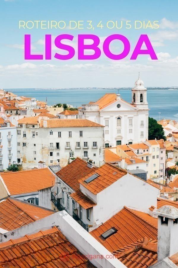 Saiba como montar seu perfeito roteiro em Lisboa, distribuído em 3, 4 e 5 dias, dependendo de quanto tempo tenha disponível na capital portuguesa. Vários pontos turísticos mais famosos e mais alternativos, com bate e volta em cidades próximas e explicações sobre cada uma delas.