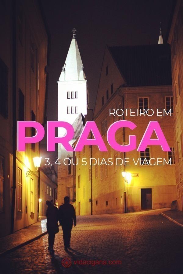 Praga é uma das cidades mais visitadas por brasileiros no Leste Europeu. Com uma lista separada por dias disponíveis na cidade, apresentamos cada ponto turístico que vale a pena ser visto na cidade.