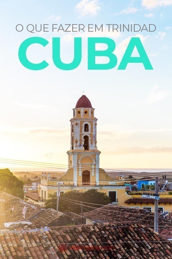 O mais bacana de fazer em Trinidad é se deixar levar por suas ruas e observar a linda arquitetura da cidade. Em cada esquina há uma surpresa diferente, uma casa coberta por azulejos ou com esquadrias de design único. Uma vez na cidade, deixe-se perder por Trinidad e volte no tempo por alguns dias, para a Cuba colonial.