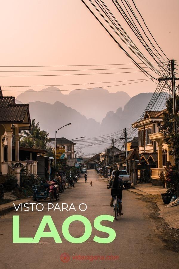 Brasileiros (e quase todas as nacionalidades do mundo) precisam do visto para o Laos para que possam entrar no país e fazer turismo.