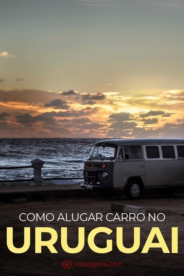 Alugar um carro em Montevidéu é a melhor opção para quem pretende fazer uma viagem pelo litoral e pelo interior do Uruguai.