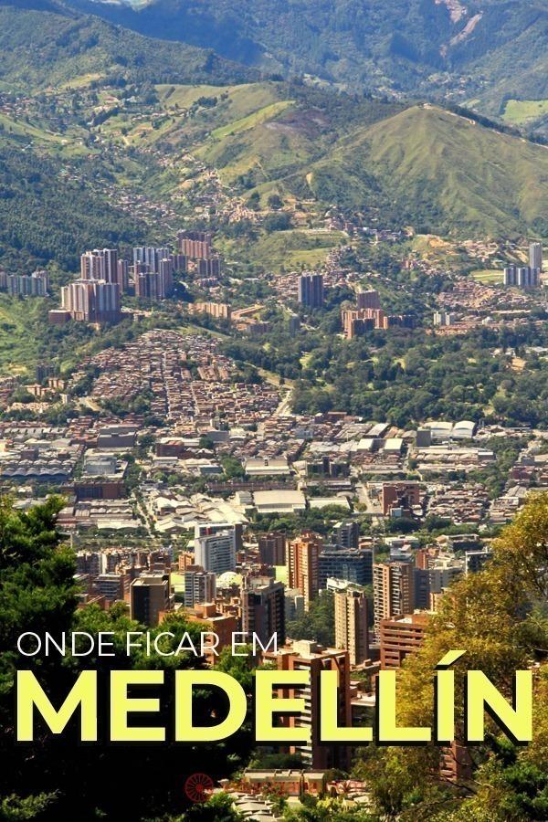 Onde ficar em Medellín: os melhores bairros. Escolher onde ficar em Medellín é fácil. Muito fácil na verdade. Reserve algum hotel no bairro de El Poblado e terá a certeza de que irá curtir o melhor que a cidade tem para apresentar a um turista. Além de El Poblado, você ainda pode encontrar bons hotéis na região de Laureles, que é mais econômica e muito buscada por quem pretende ficar mais tempo em Medellín. Ou pode escolher ficar na área central da cidade, o que não recomendamos, mas que tem lá suas opções de hospedagem