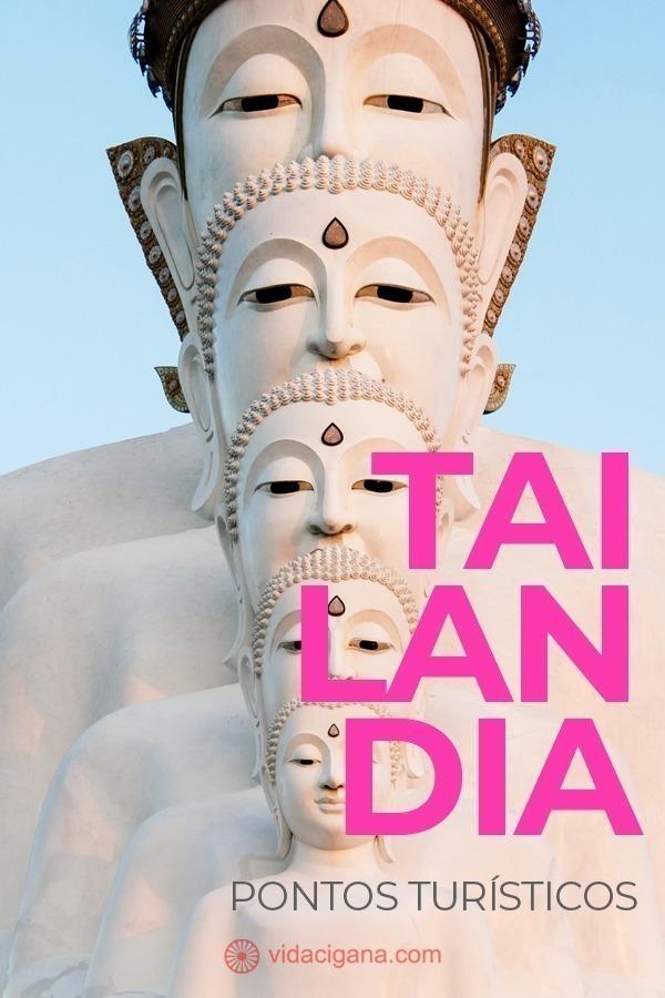 Os pontos turísticos da Tailândia podem ser catalogados em três grandes grupos: os templos e atrações religiosas, o turismo nas grandes cidades tailandesas e as incríveis praias, famosas internacionalmente, do sul do país.