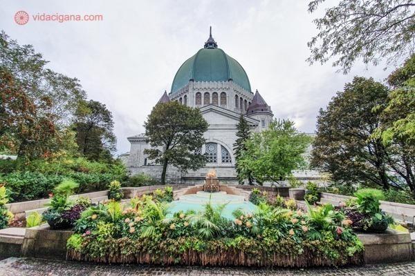O que fazer em Montreal: os fundos do Oratório de São José