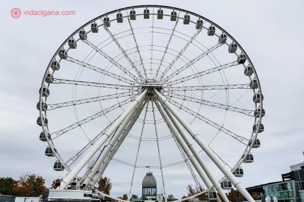 O que fazer em Montreal: a roda gigante da cidade