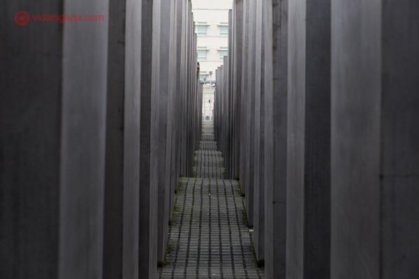 O Memorial aos Judeus Mortos da Europa