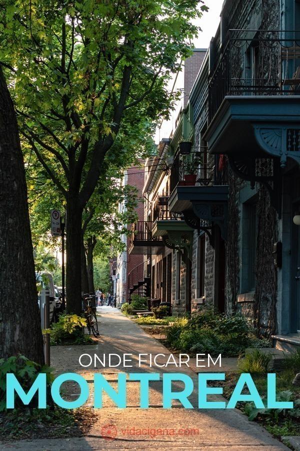 OEscolher onde ficar em Montreal é um processo relativamente rápido. Os melhores bairros para ficar hospedado na cidade constituem um grupo pequeno, o que facilita bastante a decisão.