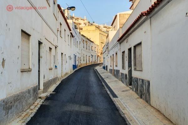 A Cidade Velha de Albufeira, cheia de casinhas brancas