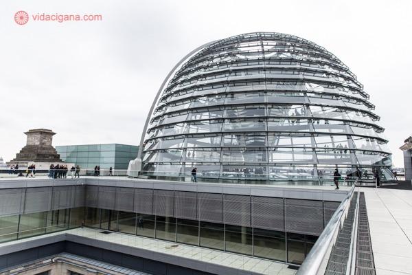 A cúpula do Parlamento Alemão