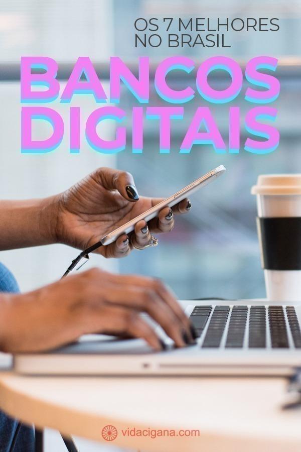 Para ajudar na escolha, elaboramos abaixo uma lista com os 7 melhores bancos digitais disponíveis hoje no Brasil. Ao final vamos citar também outras três instituições estrangeiras que oferecem contas digitais a brasileiros e podem ser uma opção a quem esteja interessado num banco com saldo em moeda internacional.