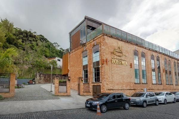 A fachada da Cervejaria Bohemia