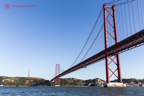 A Ponte 25 de Abril e o Santuário do Cristo Rei