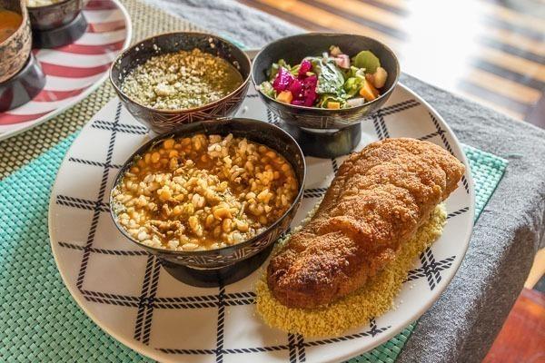 Pratos típicos paraenses, bem coloridos