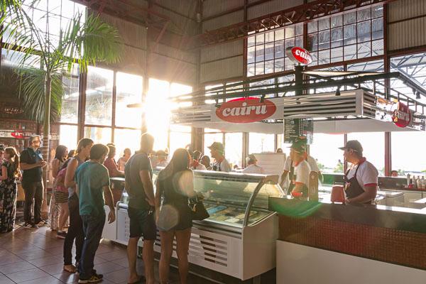 O que fazer em Belém: O sorvete Cairú com fila
