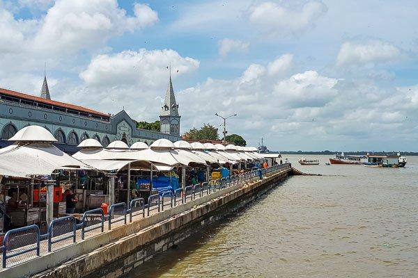 Onde ficar em Belém: O complexo ver-o-peso é uma das maiores atrações da cidade