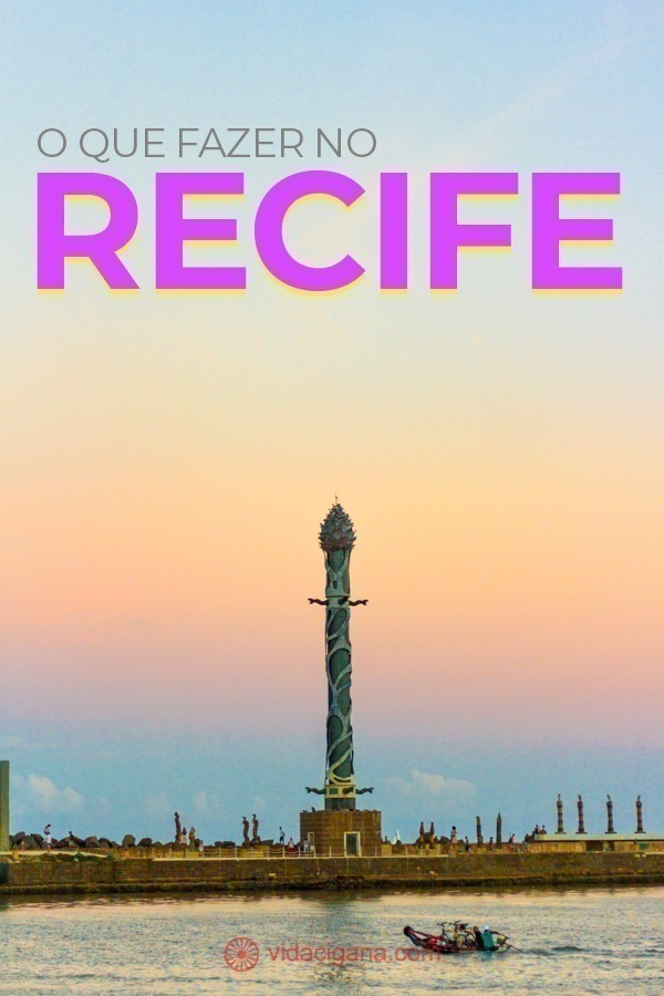 As melhores dicas do que fazer no Recife, as melhores atrações distribuídas pela cidade e alguns passeios em ilhas no entorno.