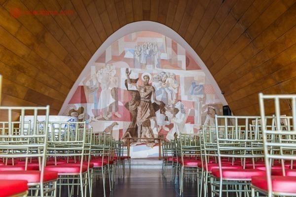 O que fazer em Belo Horizonte: o interior da Igreja da Pampulha