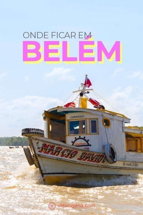 Onde Ficar em Belém: 7 Bairros para encontrar sua Hospedagem. Batista Campos, Nazaré, Umarizal, Marco, Campina, Cidade Velha, Reduto