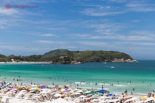 Onde ficar em Cabo Frio: A Praia do Forte, a mais famosa da cidade