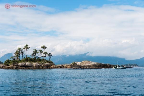 Onde ficar em Ilha Grande: Uma ilhota com algumas árvores