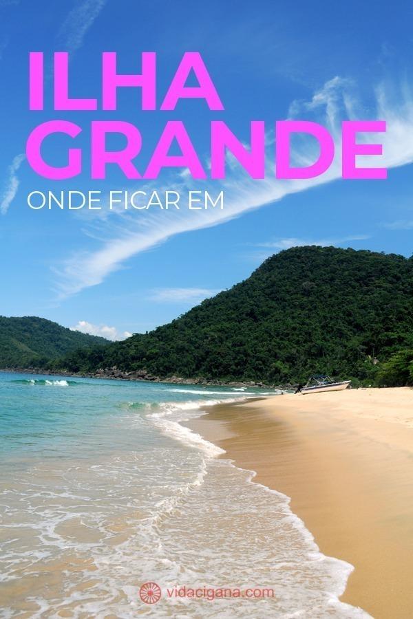Na hora de saber onde ficar em Ilha Grande, damos dicas das melhores praias, melhores hoteis e pousadas e como chegar em áreas mais afastadas