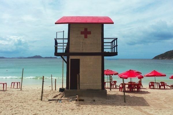 Uma casa de salvavidas na Prainha