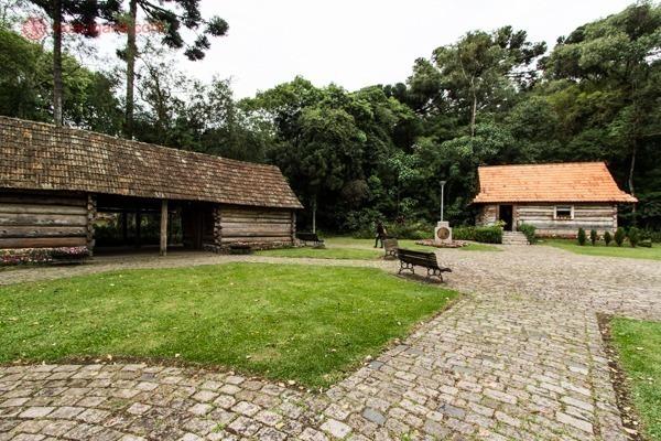 As casinhas polonesas no Bosque Papa João Paulo II