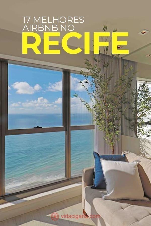 Os melhores Airbnb no Recife para você se hospedar. Em 5 bairros e regiões diferentes, perto da praia, com piscina, rede, e muitas outras opções prazerosas para suas férias.