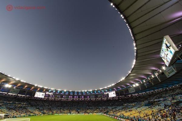 O que fazer no Rio de Janeiro: o Maracanã durante a Copa do Mundo
