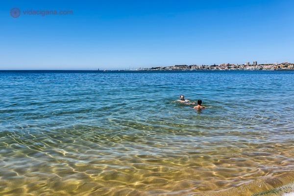 Melhores praias de Lisboa: a Praia do Tamariz, a melhor praia da linha para Cascais