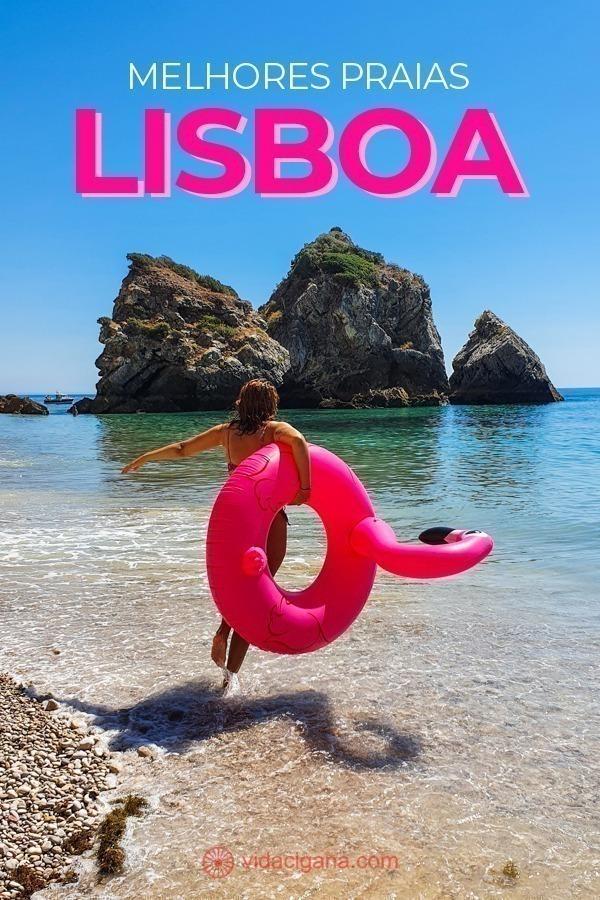As 14 melhores praias de Lisboa para quem vai no verão para a cidade e não sabe onde curtir o calor e o mar. Tudo bem explicado, inclusive como ir de transporte público da capital.