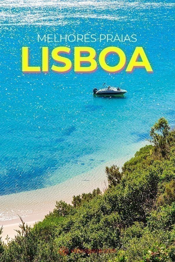 As 14 melhores praias de Lisboa, em regiões diferentes e com explicações de como ir até lá de transporte público. Praias para ir só, ir em família, praias urbanas e remotas.