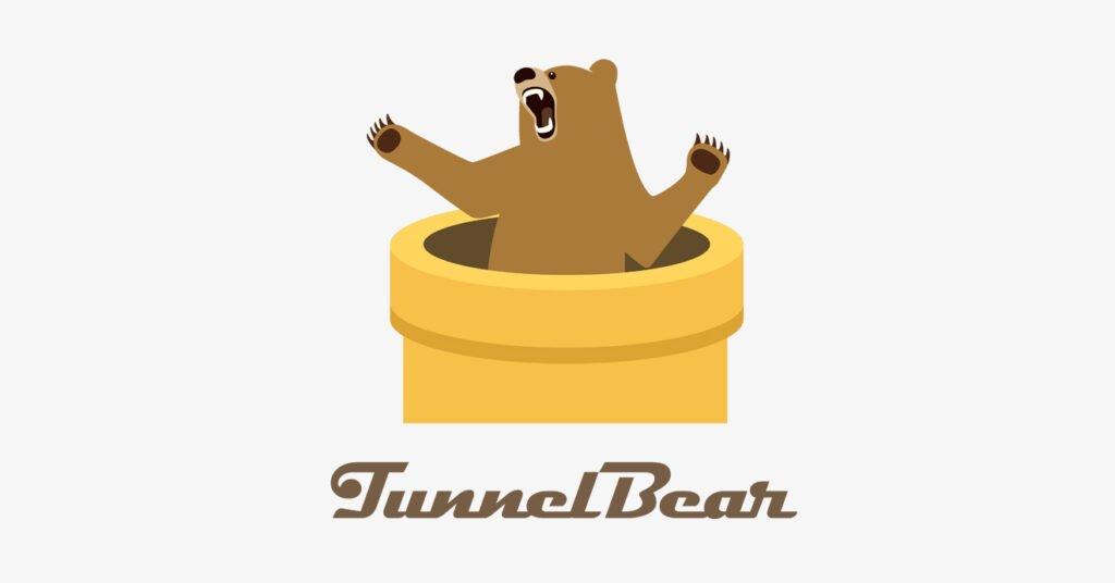 logotipo da tunnelbear, vpn que oferece plano grátis